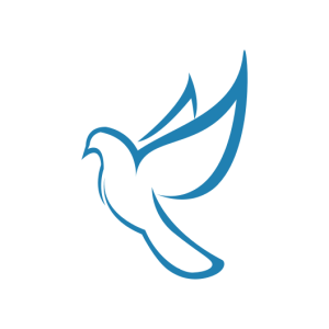 calvary chapel online school dove icon no shading