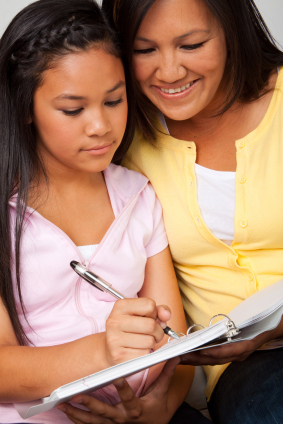 online junior high school student mom and daughter homeschool christian calvary chapel